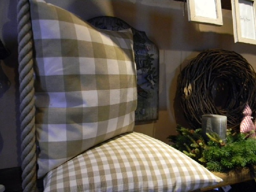Cuscino Malaka Olive  45x45 cm