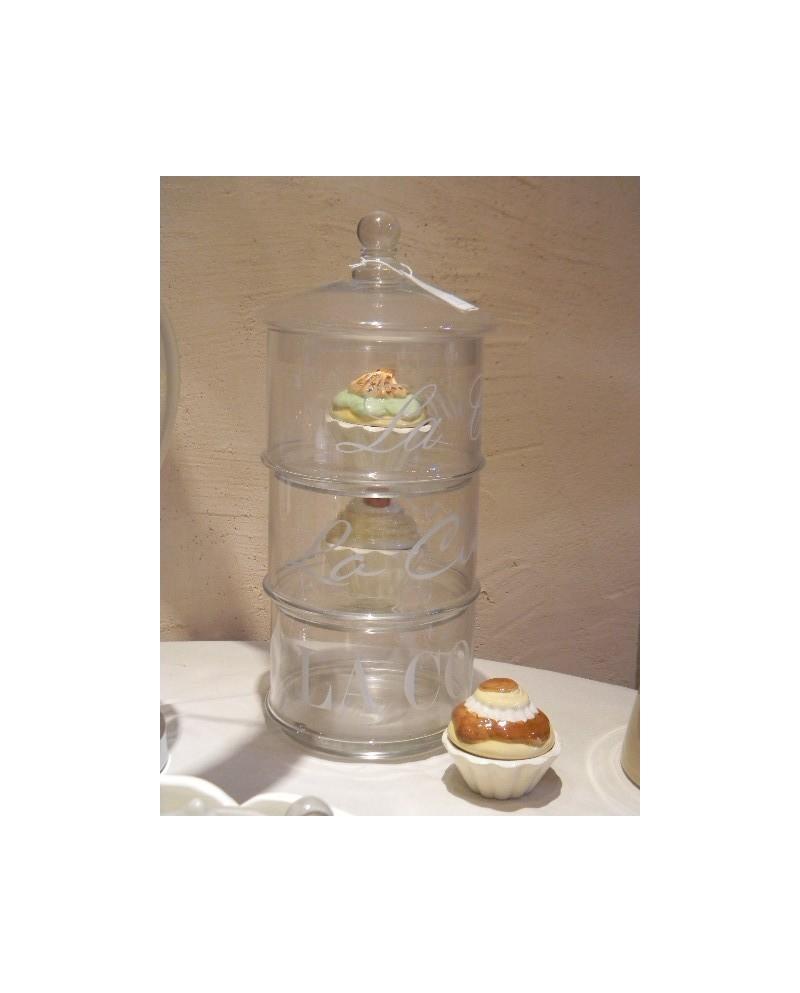 Biscottiera - Cusine Pot 3 parts