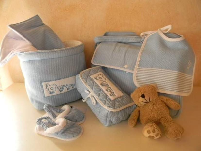 Set Baby azzurro