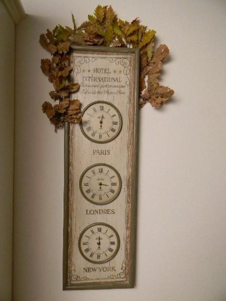 Quadro Horloge 3 Pais Country Corner