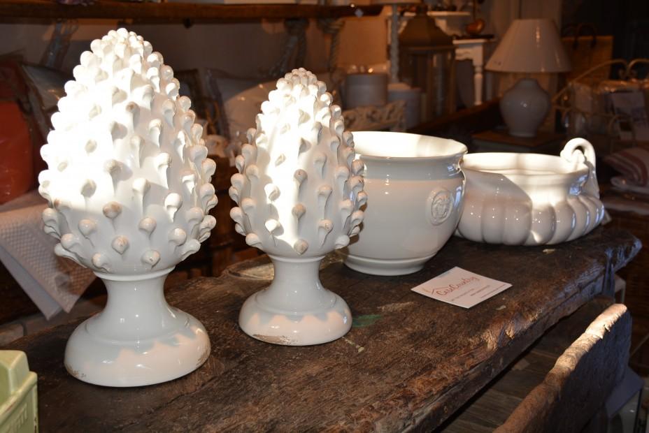 Pigna grande , Ceramiche Virginia