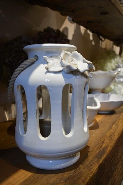 Lanterna in ceramica