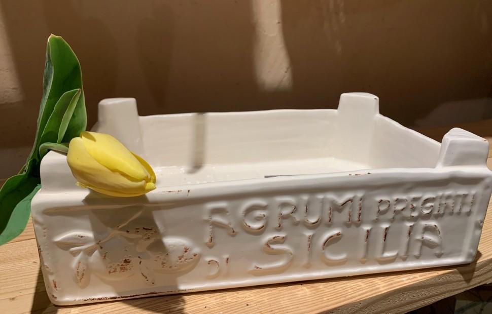 Cassetta Frutta ceramica media